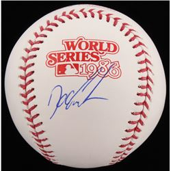 "Dwight ""Doc"" Gooden Signed 1986 World Series Baseball (Schwartz COA)"