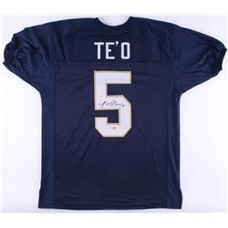 Manti Te'o Signed Notre Dame Fighting Irish Jersey (JSA COA  Te'o Hologram)