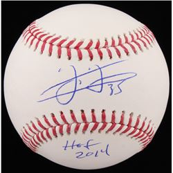 "Frank Thomas Signed OML Baseball Inscribed ""HOF 2014"" (Schwartz COA)"