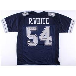 Randy White Signed Cowboys Jersey with (4) Career Stat Inscriptions (Radtke COA  JSA COA)