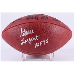 "Steve Largent Signed Signed Official NFL Game Ball Inscribed ""HOF '95"" (JSA Hologram)"