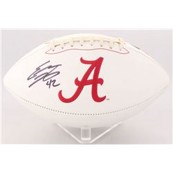 Eddie Lacy Signed Alabama Crimson Tide Logo Football (Radtke COA)