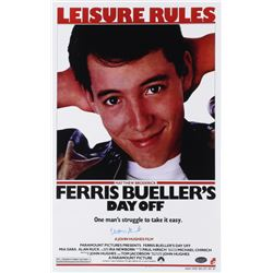"Matthew Broderick Signed ""Ferris Bueller's Day Off"" 11x17 Photo (Schwartz COA)"