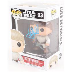 """Mark Hamill Signed """"Luke Skywalker"""" """"Star Wars: The Force Awakens"""" Funko Pop Vinyl Bobble-Head Figur"""