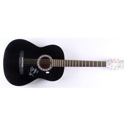 Chris Lucas  Preston Brust Signed Full-Size Acoustic Guitar (JSA COA)