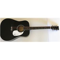 Steven Tyler Signed Full-Size Huntington Acoustic Guitar (PSA Hologram)