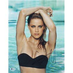 Amber Heard Signed 11x14 Photo (Beckett COA)
