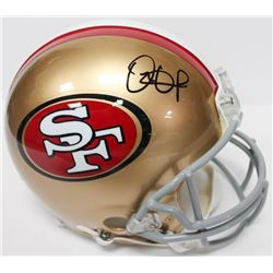 Dante Pettis Signed Eagles Authentic On-Field Full-Size Helmet (Beckett COA)
