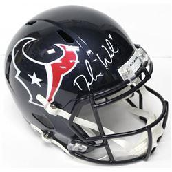 Deshaun Watson Signed Texans Authentic On-Field Full-Size Speed Helmet (Beckett COA)