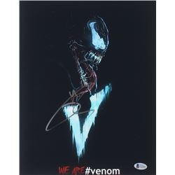 "Tom Hardy Signed ""Venom"" 11x14 Photo (Beckett COA)"