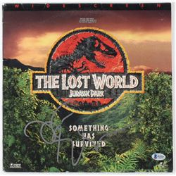 "Jeff Goldblum Signed ""The Lost World: Jurassic Park"" Laserdisc Cover (Beckett COA)"