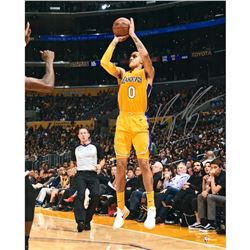 "Kyle Kuzma Signed Lakers ""Shooting"" 16x20 Photo (Fanatics Hologram)"