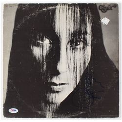 "Cher Signed ""Gypsies, Tramps  Thieves"" Vinyl Record Album Cover (PSA COA)"