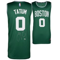 Jayson Tatum Signed Celtics Fastbreak Jersey (Fanatics Hologram)