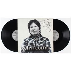 "John Fogerty Signed ""Wrote a Song for Everyone"" Vinyl Record Album Inscribed ""Rock On!"" (Beckett COA"