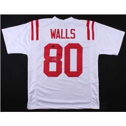 Wesley Walls Signed Ole Miss Rebels Jersey (Radtke COA)