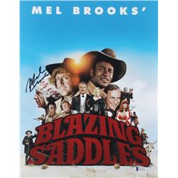 "Mel Brooks Signed ""Blazing Saddles"" 11x14 Photo (Beckett COA)"