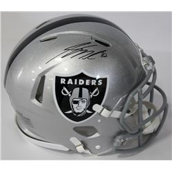 Jordy Nelson Signed Raiders Authentic On-Field Full-Size Speed Helmet (Beckett COA)