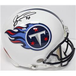 Jevon Kearse Signed Titans Full-Size Authentic On-Field Speed Helmet (JSA COA)