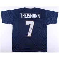 "Joe Theismann Signed Notre Dame Fighting Irish Jersey Inscribed ""CHOF 2003"" (Radtke COA)"