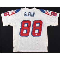 Terry Glenn Signed Patriots Throwback Starter Jersey (JSA COA)