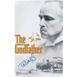 "Talia Shire Signed ""The Godfather"" 11x17 Photo (Beckett Hologram)"