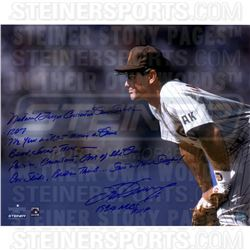 Steve Garvey Signed Padres 16x20 Photo with (7) Inscriptions (Steiner COA)