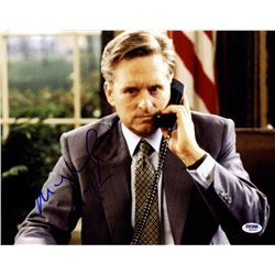 "Michael Douglas Signed ""American President"" 11x14 Photo (PSA COA)"