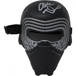 "Adam Driver Signed Replica ""Kylo Renn"" Mask (Beckett COA)"