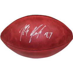 Rob Gronkowski Signed NFL Super Bowl XLIX Logo Football (Steiner COA)