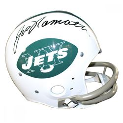 Joe Namath Signed Jets Full-Size TK Throwback Helmet (Steiner COA)