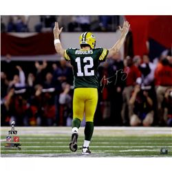 Aaron Rodgers Signed Packers LE 20x24 Photo (Steiner COA)