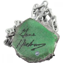 Gene Hackman Signed Kryptonite Movie Prop (Steiner COA)