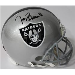 Tim Brown Signed Raiders Authentic On-Field Full-Size Helmet (Beckett COA)
