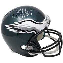 Brian Dawkins Signed Philadelphia Eagles Riddell Full-Size Helmet (JSA COA)