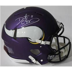 Daunte Culpepper Signed Vikings Authentic On-Field Full-Size Speed Helmet (JSA COA)