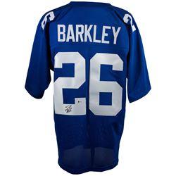 Saquon Barkley Signed New York Giants Jersey (Beckett COA)