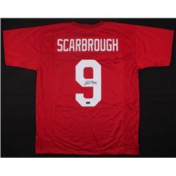 Bo Scarbrough Signed Alabama Crimson Tide Jersey (Radtke COA)