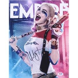 "Margot Robbie Signed ""Suicide Squad"" 11x14 Photo (PSA COA)"