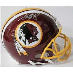 Adrian Peterson Signed Redskins Authentic On-Field Full-Size Helmet (Beckett COA)