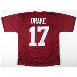 """Kenyan Drake Signed Alabama Crimson Tide Jersey Inscribed """"2x National Champs"""" (Schwartz COA)"""