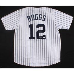 "Wade Boggs Signed Yankees Jersey Inscribed ""HOF 05"" (JSA COA)"