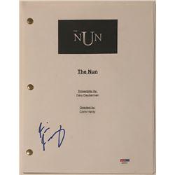 "Taissa Farmiga Signed ""The Nun"" Full Movie Script (PSA COA)"