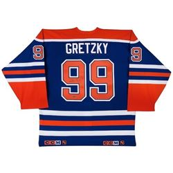 Wayne Gretzky Signed Oilers CCM Authentic Jersey (UDA COA)