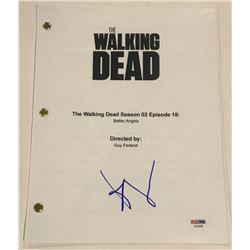 "Andrew Lincoln Signed ""The Walking Dead"" Episode Full Script (PSA COA)"