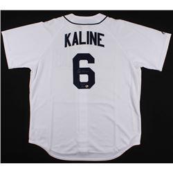 "Al Kaline Signed Tigers Jersey Inscribed ""HOF 80"" (Radtke COA)"