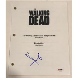 "Andrew Lincoln Signed ""The Walking Dead"" Full-Episode Script (PSA COA)"