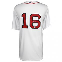 Andrew Benintendi Signed Red Sox Majestic Jersey (MLB Hologram  Fanatics Hologram)