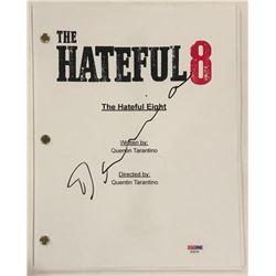 "Demian Bichir Signed ""The Hateful Eight"" Full Movie Script (PSA COA)"