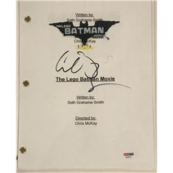 "Conan O'Brien Signed ""The Lego Batman Movie"" Full Movie Script (PSA COA)"
